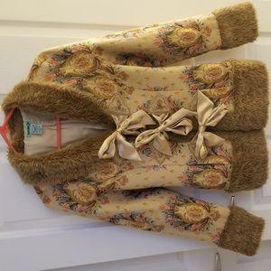 Vintage Inspired Kensie Boho Brocade Jacket